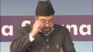 Ahmadiyya : Islami Jihad Ki Haqeekath Jalsa Qadian 2009 Day 2 Morning Part 2/4