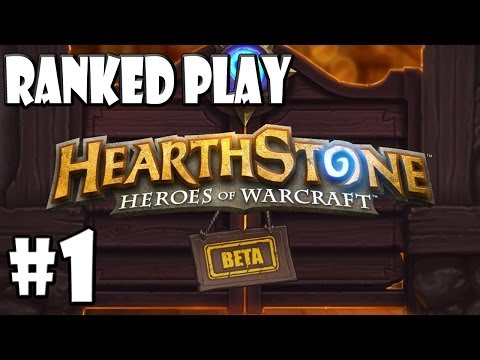 Mitch Plays Hearthstone - Climbing Up The Ranked Ladder - Part 1