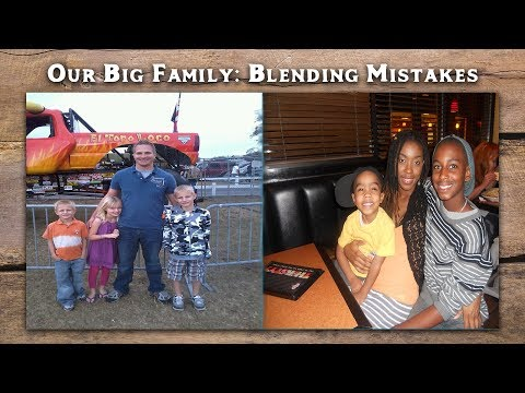 Our BIG Family Blending Mistakes |  Blended family problems  | Vlogss