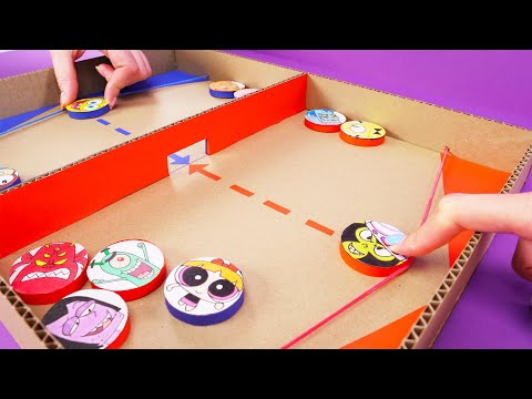 SIMPLE DIY GAMES YOU CAN MAKE FOR FUN 🤩