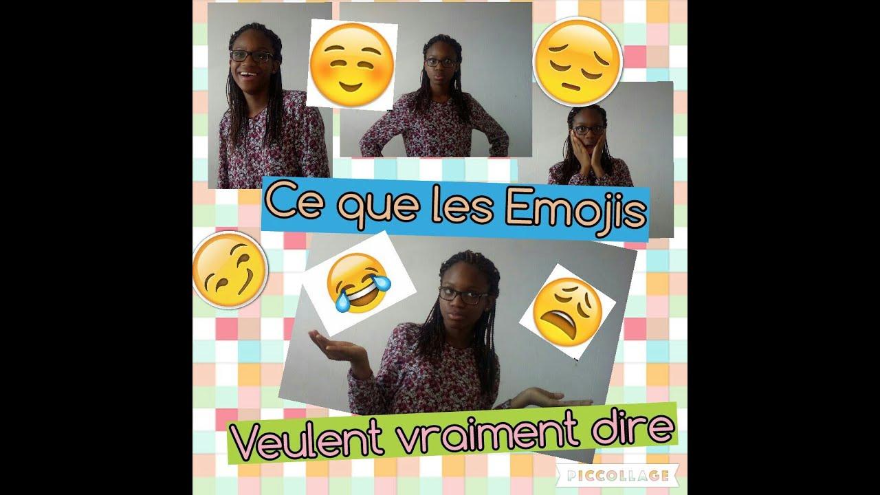 Ce Que Les Emojis Veulent Vraiment Dire