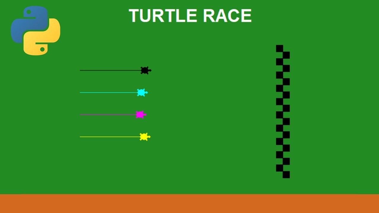 Python Tutorial - Turtle Race Game (1/2)