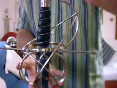 Espada ropera de lazo