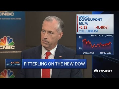 Dow Chemical CEO Fitterling on the new Dow
