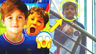 MESSI'S KIDS ARE NOW PLAYING FOR PSG! Thiago and Mateo Messi are the new stars of the PSG academy!