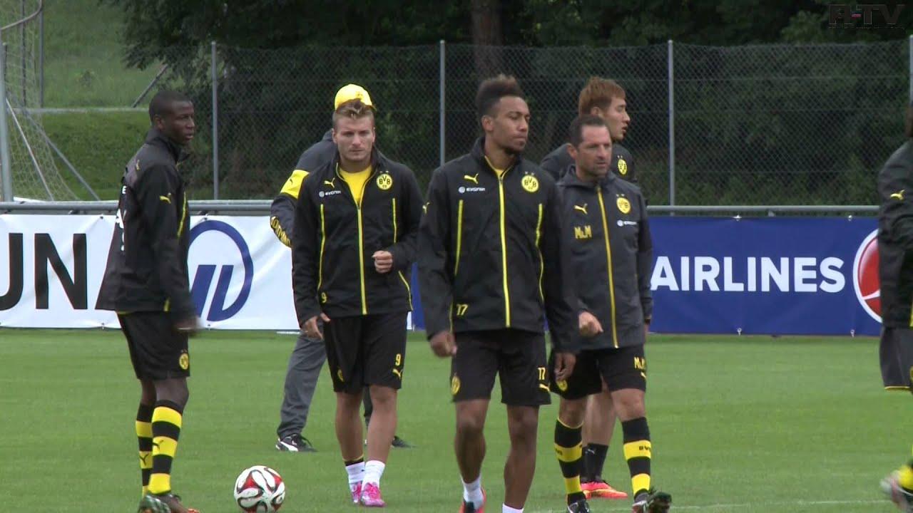 Borussia Dortmund in Bad Ragaz 2014