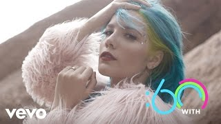 Halsey - :60 With (Vevo UK)