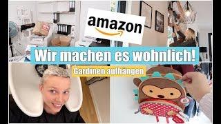 Büro im Keller einrichten | Amazon Haul | Besuch beim Baumarkt & Frisör | Isabeau