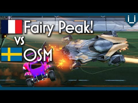 Highest Level 1v1 Series Ever? | Fairy Peak vs OSM | Rocket League 1v1