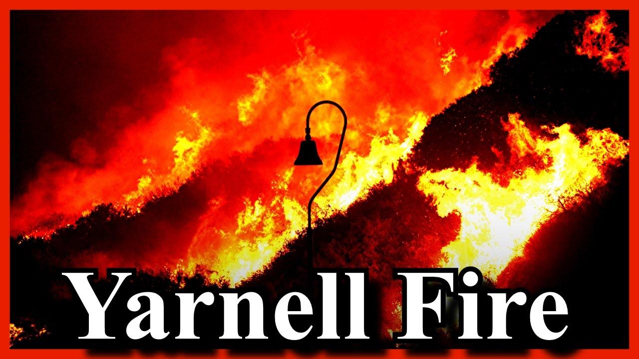 Arizona yavapai county yarnell - Brush Fire Yarnell Arizona Threatening Structures Town Of Yarnell Evacuations Underway 2016