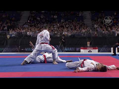 TOP TEN Karate actions of the last day of finals of Karate World Championships