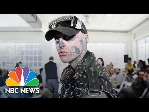 Zombie Boy  Rick Genest Dead At 32 And Lady Gaga Pays Tribute | NBC News