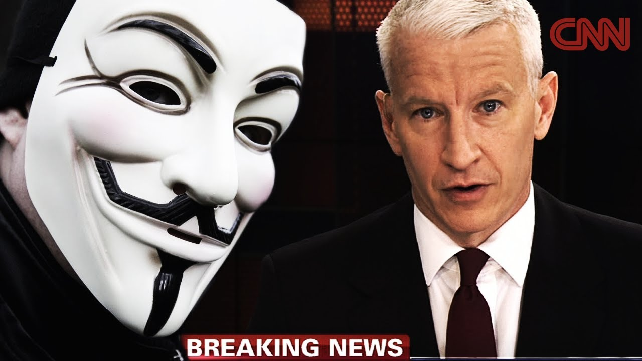 Anonymous - CNN Busted Again... (FAKE NEWS EXPOSED)