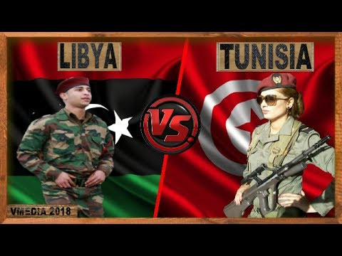 Libya vs Tunisia  - Army / Military Power Comparsion 2018