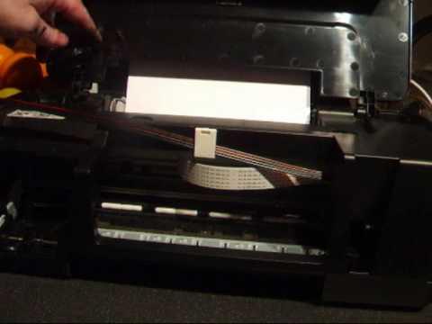 How to install a CISS onto a Canon IP1800 1P1900 printer