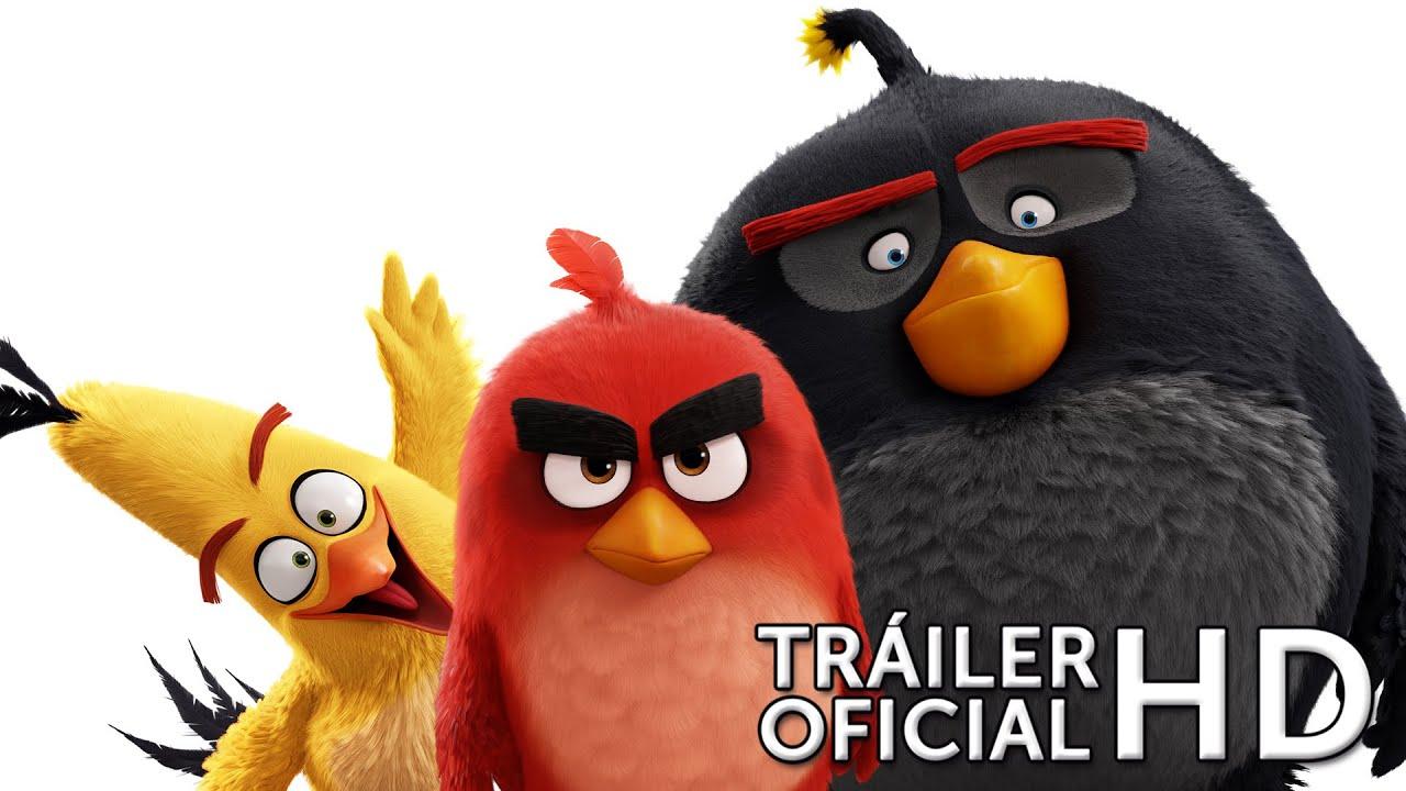ANGRY BIRDS LA PELÍCULA. Teaser tráiler en español HD. Ya en cines