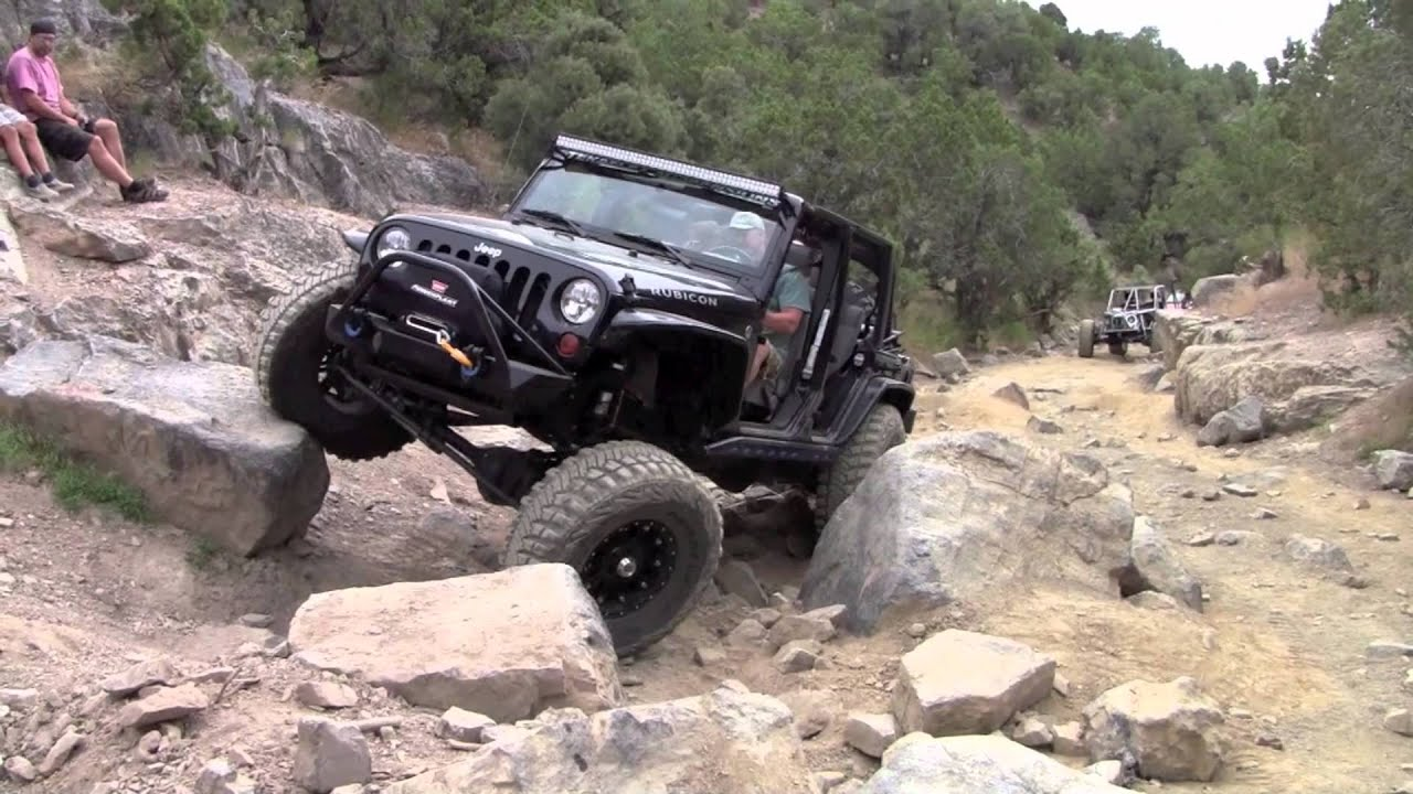 Rattlesnake Trail, Utah Jeep Rubicon Offroad - YouTube