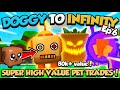 ALPHAGG Doggy To Infinity 💸 HIGH VALUE SECRETS 💸 (day 6) - Bubble Gum Simulator (Roblox)