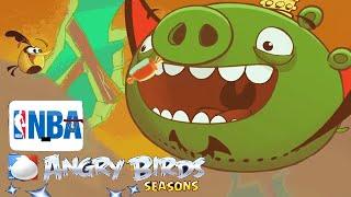 Angry Birds Seasons: NBA HAM Dunk, Angry Birds Vs Piggy Island Bullies