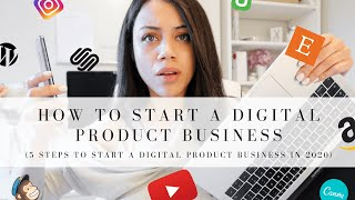 HOW TO START A DIGITAL PRODUCT BUSINESS IN 2020 | MAKE PASSIVE INCOME IN 2020!