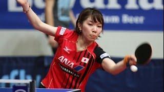 Croatia Open 2014 Highlights: Yang Xiaoxin Vs Misako Wakamiya (FINAL)