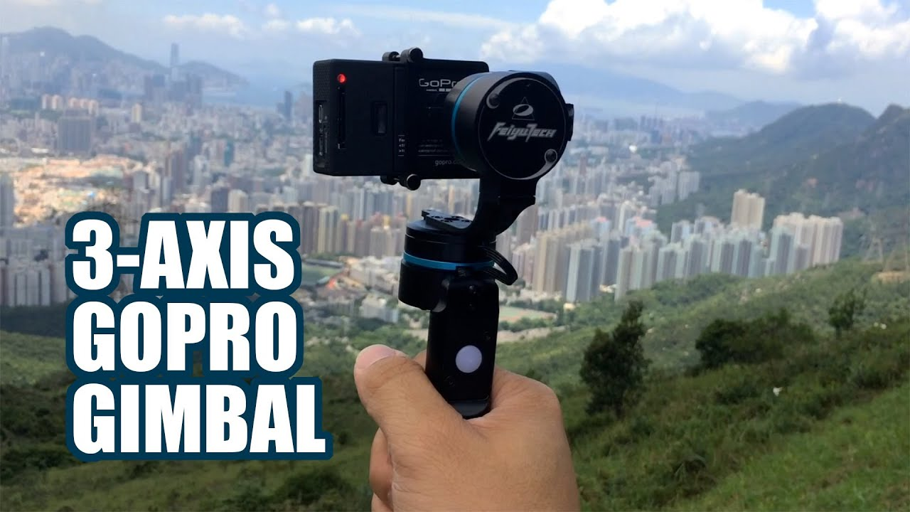 Feiyu G3 Ultra 3 Axis Gimbal Stabilizer Introduction