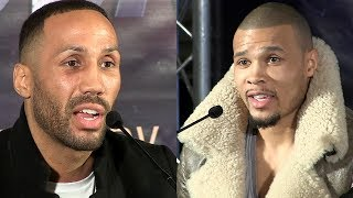 THE BACK & FORTH JAMES DEGALE VS CHRIS EUBANK JR FULL KICKOFF PRESS CONFERENCE IN LONDON, ENGLAND