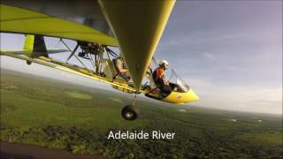 Yellow Hornet Local Flight Darwin NT 15 Jan 2017