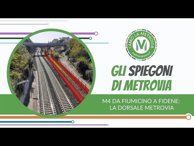 13  M4 DORSALE DI METROVIA - Gli Spiegoni di Metrovia