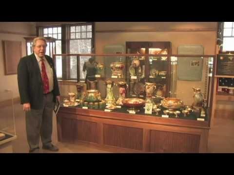 Pickard China Exhibit At The Helen Jeffris Wood Museum