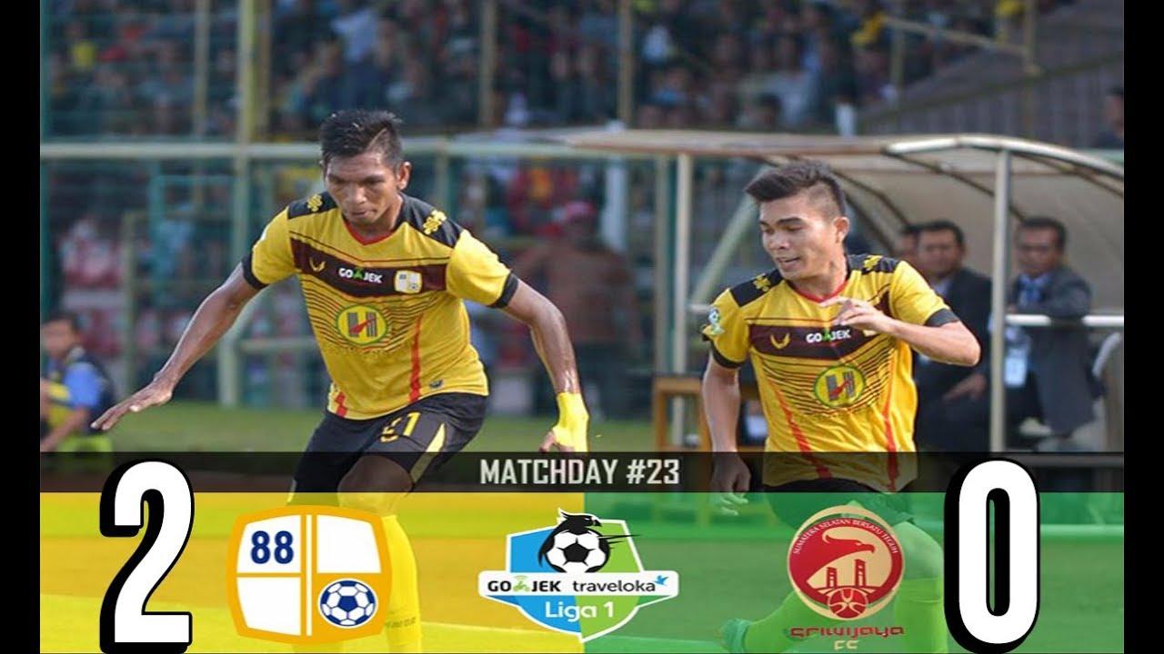 Barito Putera Vs Sriwijaya Fc   All Goals Highlights Liga  Gojek Traveloka   Hd