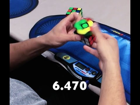 Rubik's Cube Competition: Don't Mess With Texas 2017