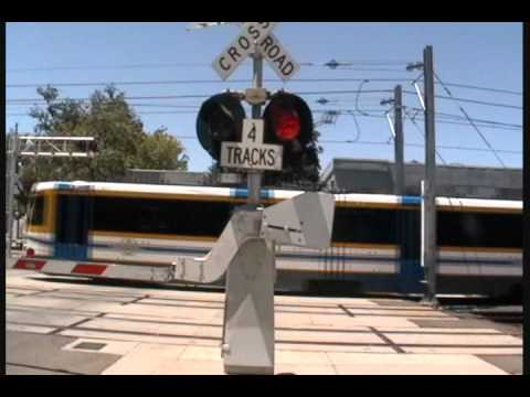 S St Railroad Crossing compliation with rare Safetran Type 1 Electronic Bell