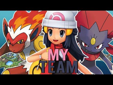 My INSANE Team For Pokemon Brilliant Diamond U0026 Shining Pearl!