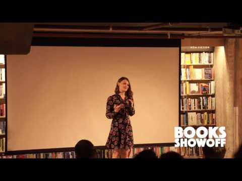 Belle Taylor takes on the Dice Man at Books Showoff