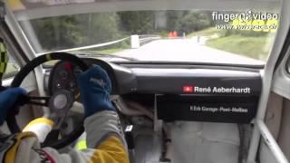 300 HP, 730 kg lightweight Opel Kadett C GT/E 2.0 16V on 7.8km Hillclimb Arosa 2015