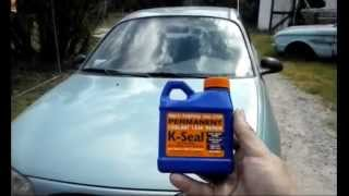 K-Seal Put to the Test - See What Happens to this 1997 Ford Escort