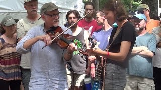 2015 Clifftop -  Bruce Molsky and Allison de Groot @ Appalachain String Band Music Festival
