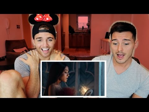 Ariana Grande And John Legend  Beauty And The Beast Music Video REACTION