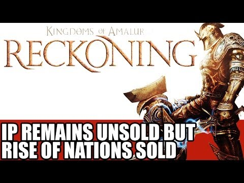 Kingdoms of Amalur News - IP Remains Unsold At Auction & Rise of Nations Sales Confirmed