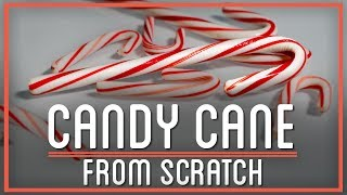 Candy Canes Made from Sugarcane | HTME