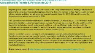 Epichlorohydrin (ECH) Market 2017