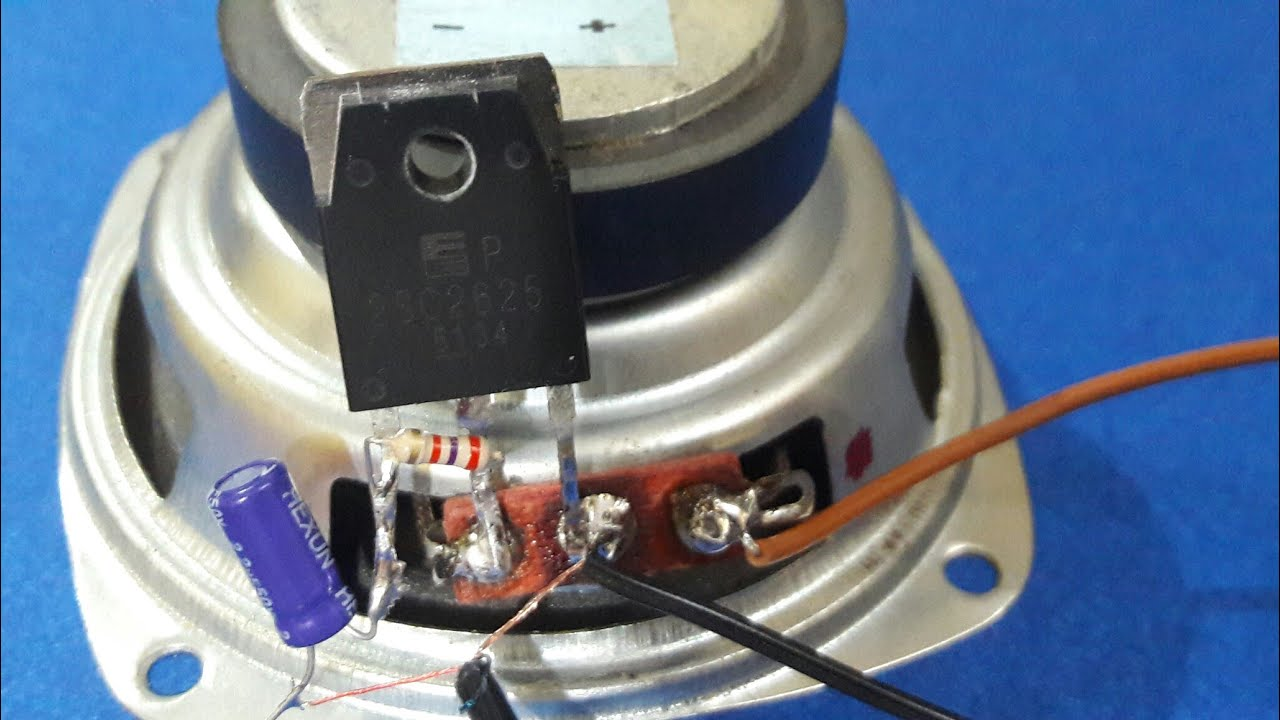Audio Transistor Amplifier Circuit