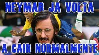 FALHA DE COBERTURA #166: Neymar já Volta a Cair Normalmente