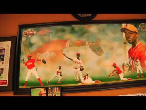 Jimmy Rollins gives tour of his house
