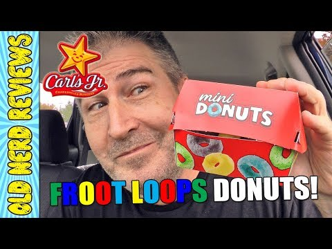 Froot Loops Mini Donuts Are The Rage