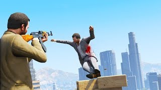 GTA 5 PC: REALISTIC DEATHS 60FPS (EUPHORIA RAGDOLL OVERHAUL) #45