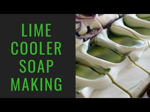 Making 'Quite the Gentleman' soap - YouTube