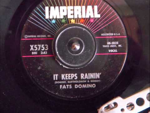 FATS DOMINO - IT KEEPS RAININ'