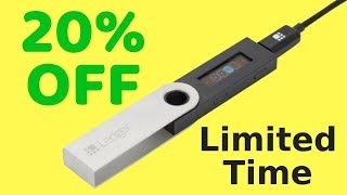 Ledger Nano S 20% Off SALE - Crypto Hardware Wallet